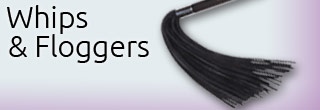 Leather Whips | Latex Floggers | Whipping & Flogging | Sexopolis