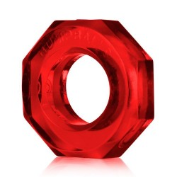 Oxballs Humpballs Cock Ring - Red