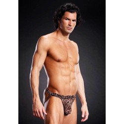 Pro-Mesh Jock Strap Leopard - Small/Medium