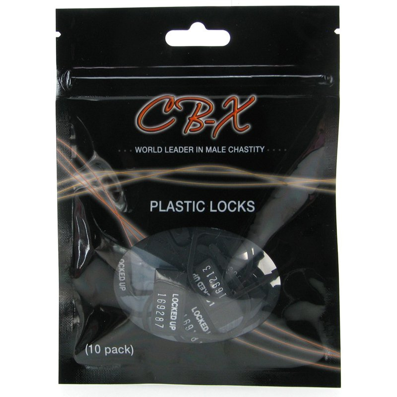 CB-X Chastity Cage Disposable Locks | 094922347602 | Chastity Devices - Ζώνες Αγνότητας