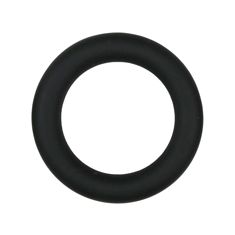 Silicone Cock Ring Black medium | 8718627524978 | Cock Rings
