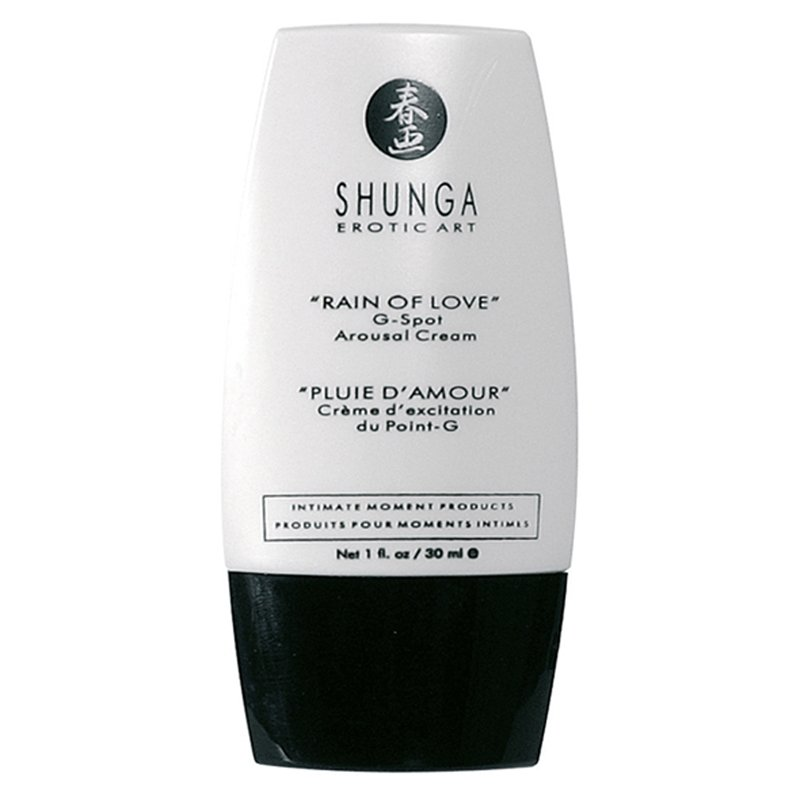 Shunga - Rain of Love G-Spot Arousel Cream | 697309075008 | Stimulating Sprays & Creams