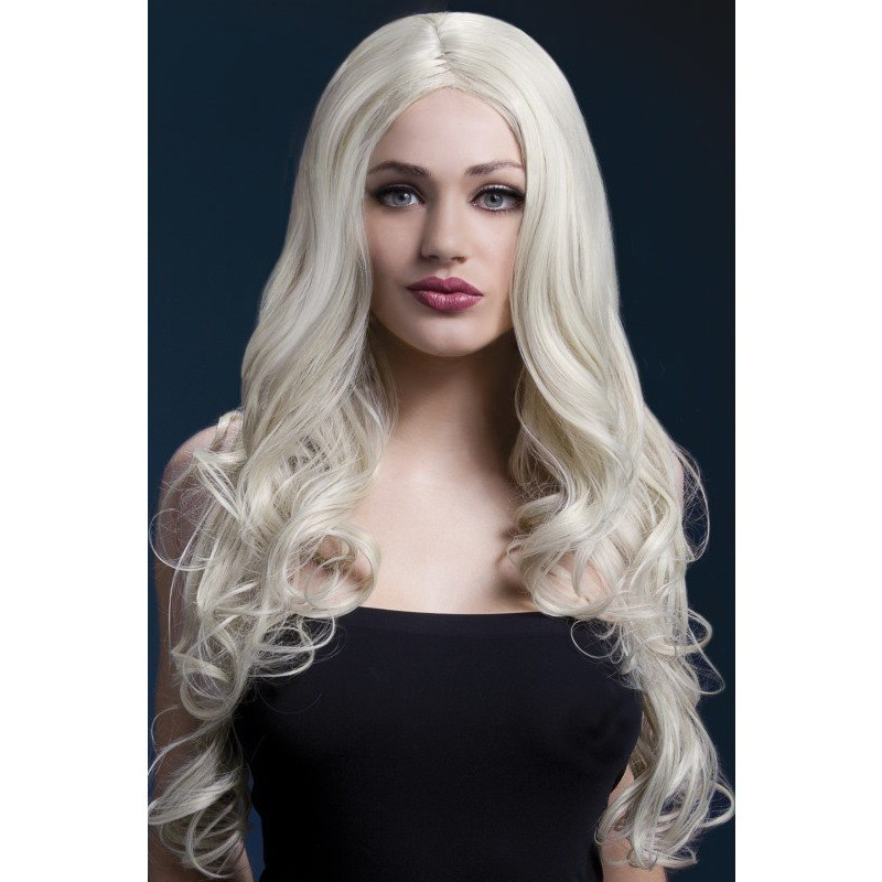 Fever Rhianne Wig 26inch/66cm Blonde Long Soft Curl with Centre Parting | 5020570425107 | Περούκες