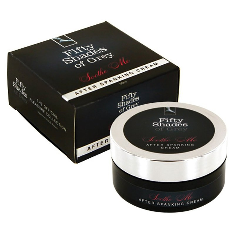 Fifty Shades of Grey - Soothe me After Spanking Cream | 5060108819176 | Intimate Care & Hygiene