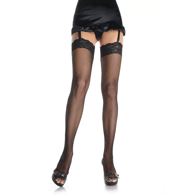 Fishnet Stockings - Black | 714718009209 | Κάλτσες