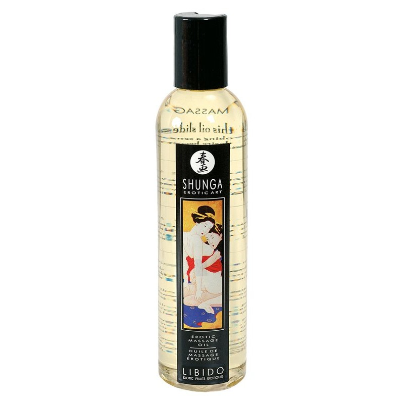 Shunga Massage Oil Libido - 250 ml | 697309010047 | Massage Oils