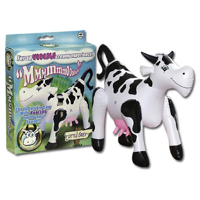 Little Daisy Inflatable Cow | 4892503028836 | Couples & Party Gags