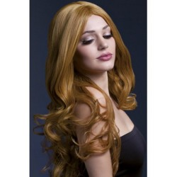 Long Wig With Curls - Brown