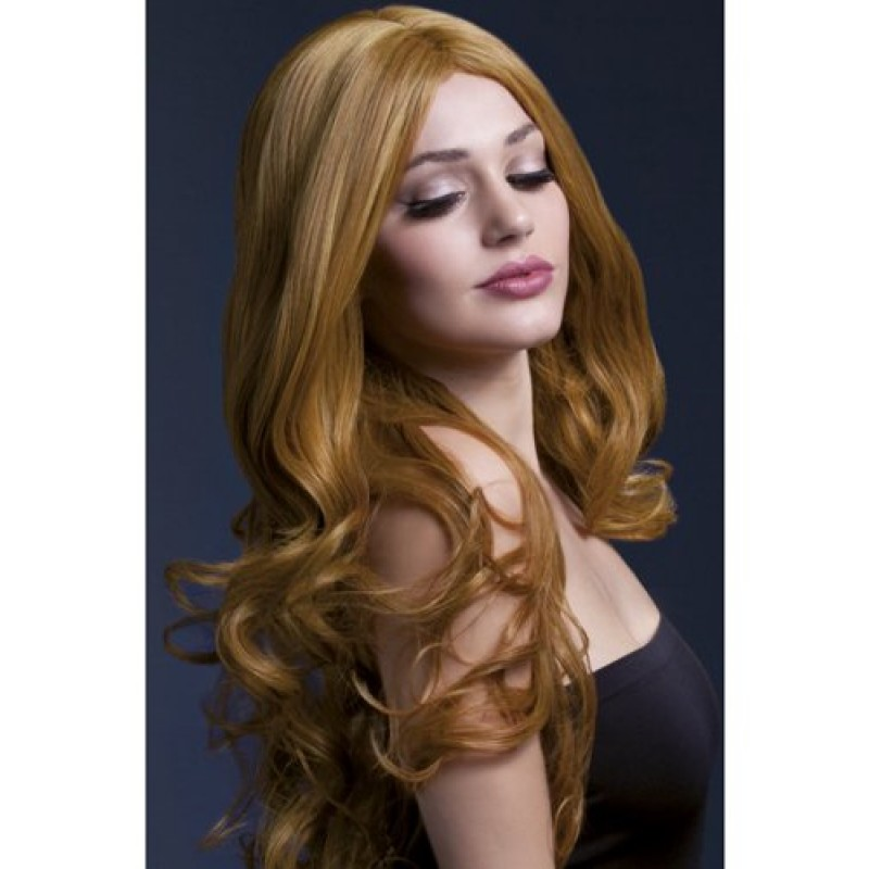Long Wig With Curls - Brown | 5020570425121 | Περούκες