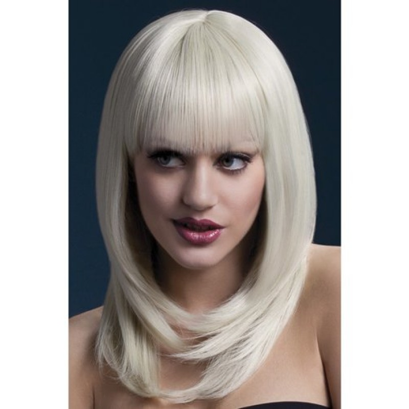 Long Wig With Fringe - Blonde | 5020570425220 | Περούκες