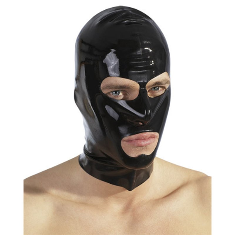 Black latex hood | 4024144108497 | Blindfolds & Masks