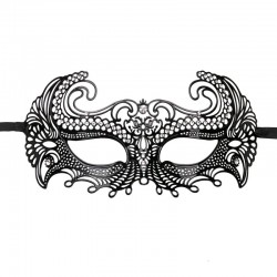 Metal Mask Venetian - Black