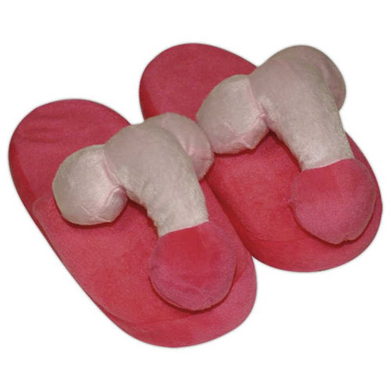 Pink-coloured penis slippers | 4024144779932 | Couples & Party Gags