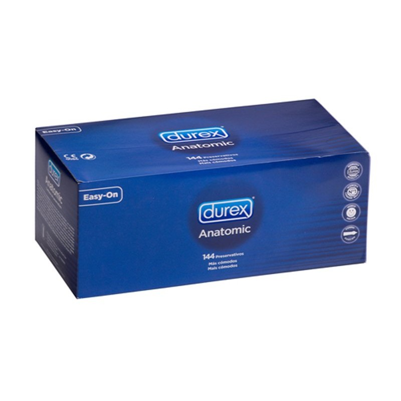 Durex Anatomic Condoms 144pcs | 5038483425596 | Durex Condoms