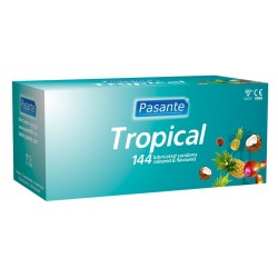 Pasante Tropical condoms 144pcs