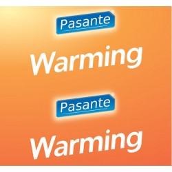 Pasante Warming Condoms 144pcs