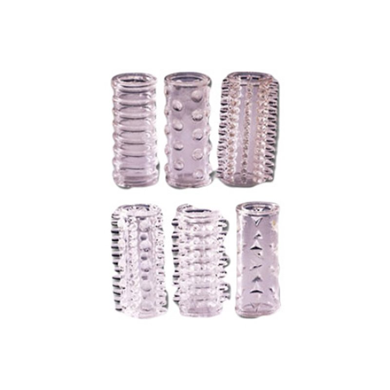 Penisring Assortment 6 pieces | 4024144520053 | Cock Rings