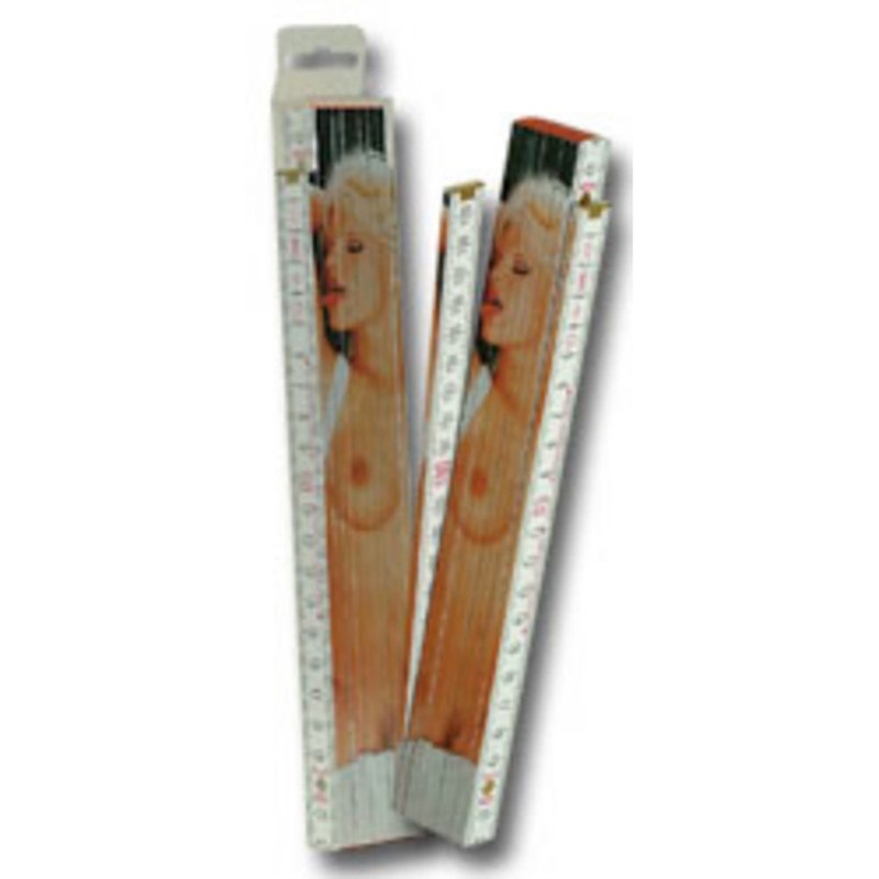 Female Strip Tease Ruler - 2 m | 4024144776108 | Couples & Party Gags