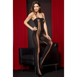 Music Legs Open Crotch Catsuit
