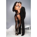 Crotchless Bodystocking With Stockings Design | 849450042457 | Ολόσωμα & Διχτυωτά Καλσόν