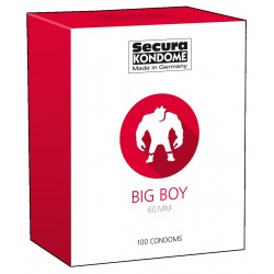 Big Boy Condoms - 100 Pieces