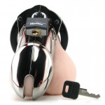 CB-6000 Chastity Cage - Chrome - 35 mm | 094922298522 | Chastity Devices