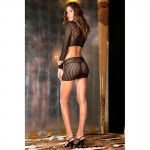 Crochet-net bodystocking | 017036576720 | Tops