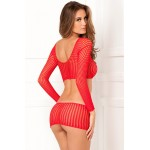 Crochet-Net Bodystocking | 017036421358 | Sexy Φορέματα
