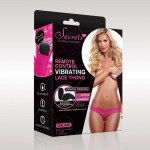 Vibrating Knickers With Remote Control - Pink | 726633976610 | Τάνγκα