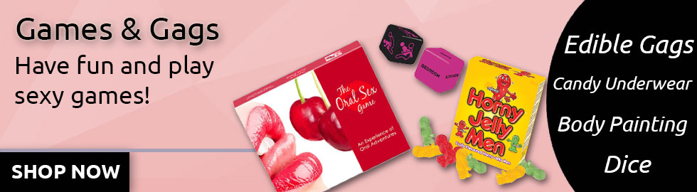 Games & Gags   Edible Gags   Candy Bra   Candy Panties   Couples Board Games   Body Painting   Sexopolis